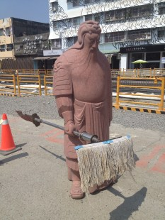 Guan Yu, mighty saint of war is mad you spilled your tea.