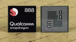 Qualcomm Snapdragon 888チップ