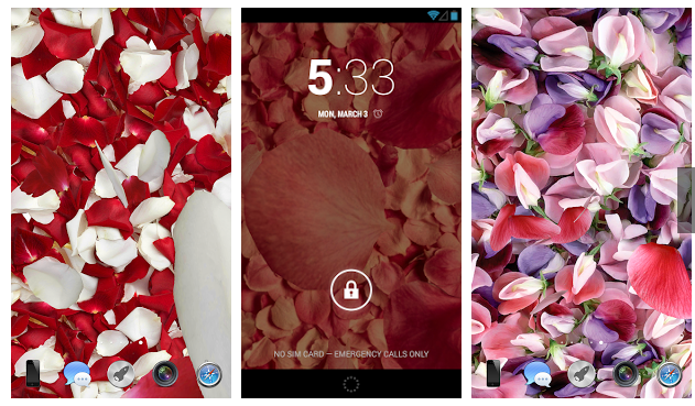 Top 10 Live Wallpaper Apps for Xiaomi Mi   Redmi phones  Download     petals 3d live wallpapers download