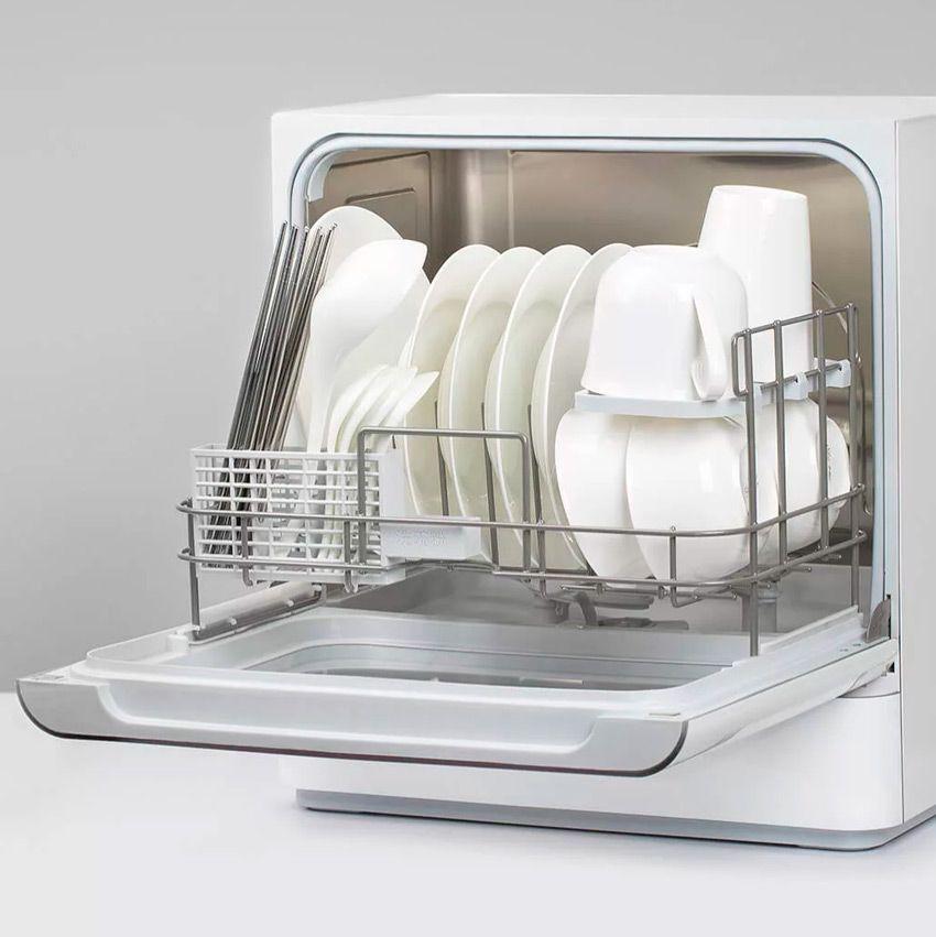 Вместимость компактной посудомоечной машины