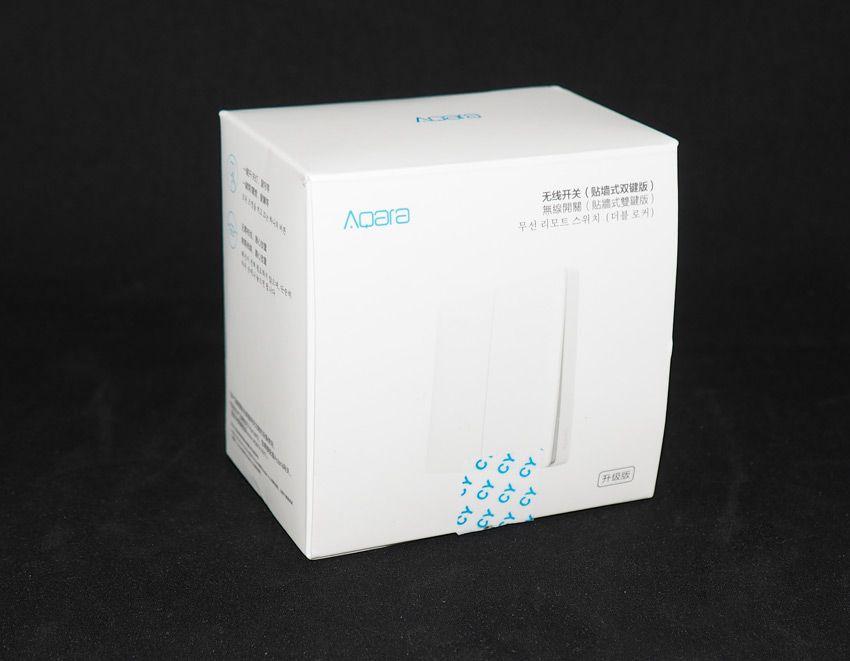 Коробка от выключателя Aqara, обновленная версия.