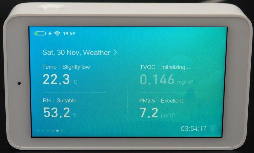 Общая информация Mijia Air анализатор