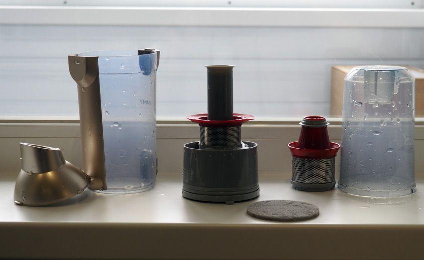 Сушка компонентов пылесоса