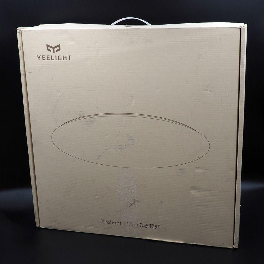 Коробка от умной лампы Xiaomi Yeelight