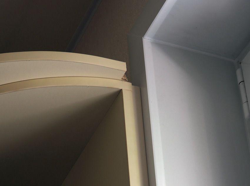 Преграда для штор