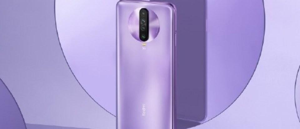 redmi k30 purple