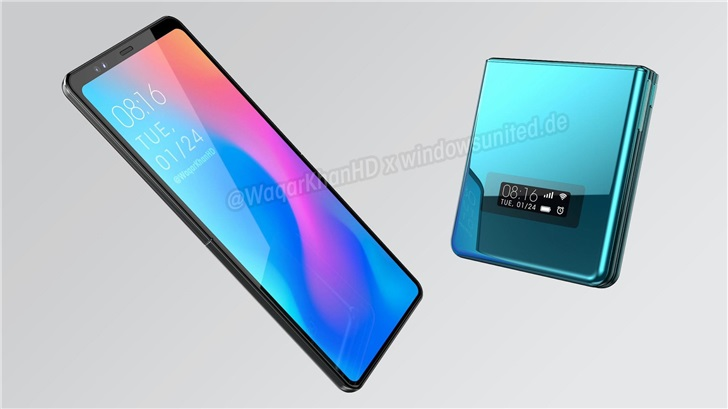Xiaomi clamshell foldable smartphone