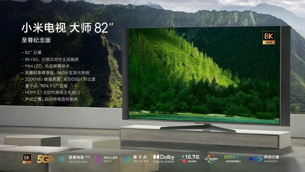 Xiaomi Mi TV 82-inch