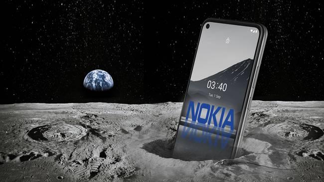 Nokia on the moon