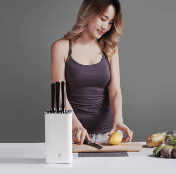 HUO HUO Deep Disinfection Kitchen Knife Holder