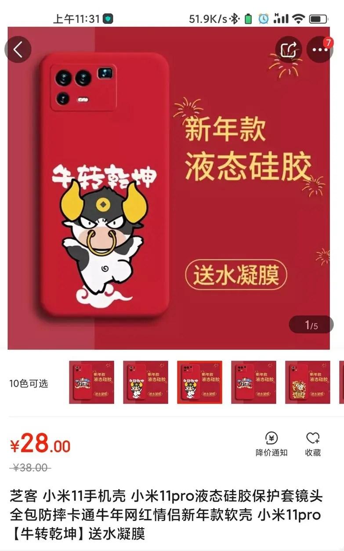 Xiaomi Mi 11 Pro case