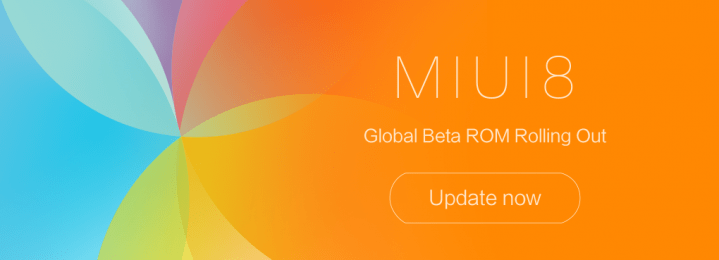MIUI 8 Global Beta ROM 7.1.19 is out