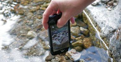 funda acuatica para iPhone