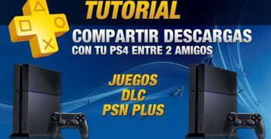 Cómo compartir PlayStation Plus, dlc o juegos entre usuarios