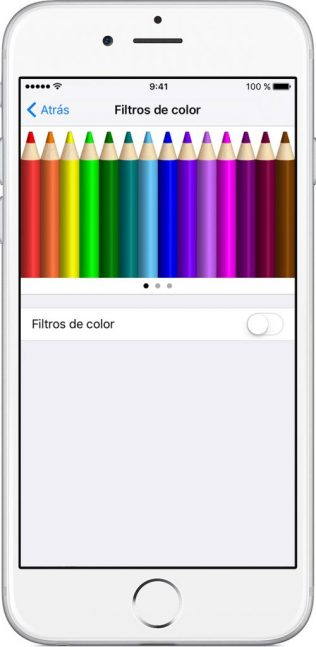 cambiar colores iphone
