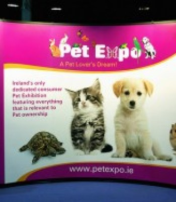 pet expo sign
