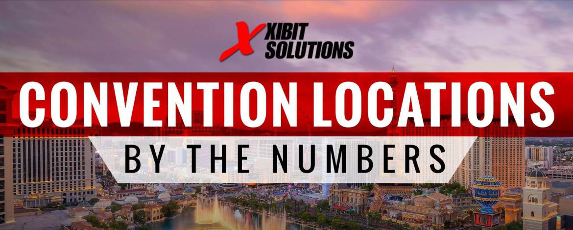 las vegas convention locations by the numbers