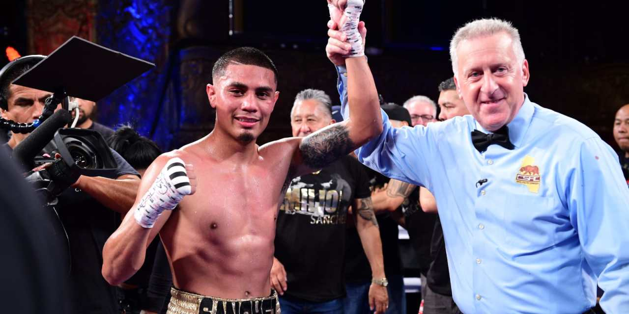 """""""The Kid"""" Sanchez returns to the ring with spectacular performance"""