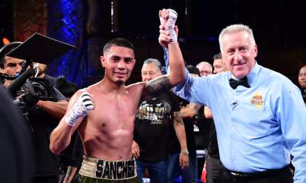 """The Kid"" Sanchez returns to the ring with spectacular performance"