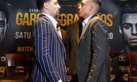 Celebrate 4/20 at the War Grounds: Danny Garcia to take on Adrian Granados