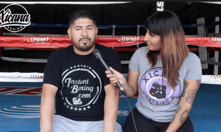 "ANDY CAN BEAT WILDER AND FURY -ANDY RUIZ'S CO-TRAINER ""ESTRELLITA"" FOR XICANA BOXING"