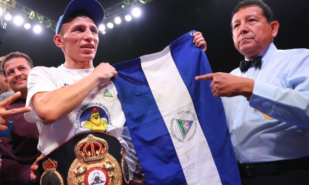 Rene Alvarado Defeats Andrew Cancio to Become World Champion in Historic Date for Nicaragua