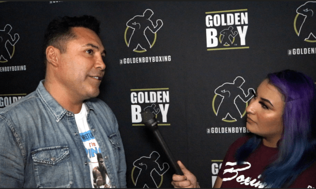 OSCAR DE LA HOYA: WE MADE [RYAN GARCIA] ONE OF THE RICHEST YOUNG PROSPECTS IN BOXING!