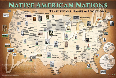 Reclaiming our names: The Tribal Nations Maps project