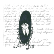 """Title: """"un espejo."""" By Alana de Hinojosa. Ask me who I am, and I'll tell you through rajadas. Ask me how my eyes sit deep in their brown, and how my mouth moves comfortably to a superior tongue, and I'll tell you through mispronunciation. Ask me what I see in the black reflection of my mother's obsidian mirror, and I'll tell you through white American teeth: """"The thesis and the anti."""" Website: alanadehinojosa.wordpress.com"""