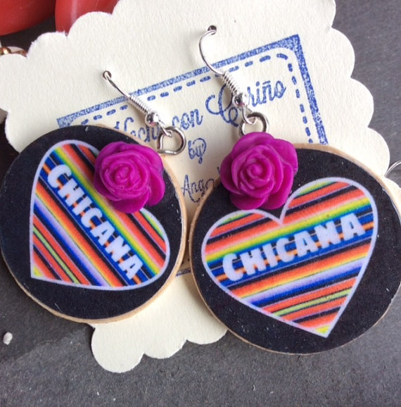 Chicana Earrings