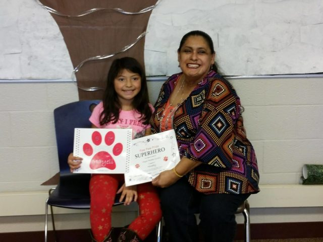 Young Xicana Inspires Kindness