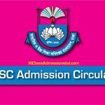 HSC Admission Circular 2018
