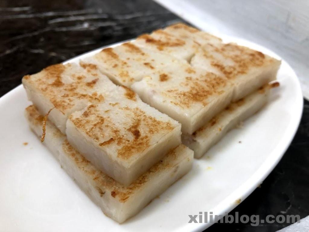 李記豆漿の蘿蔔糕(ルォポウガオ)