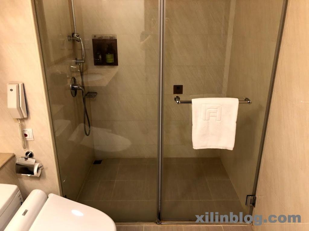 フーシンホテル台中のバスルーム04