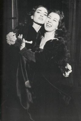 Anna Bolena al Teatro alla Scala (1957) Maria Callas i Giulietta Simionato