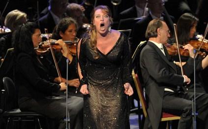 Nina Stemme, Salome al PROMS 58 del 30 d'agost de 2014 Fotografia: CHRIS.CHRISTODOULOU/BBC