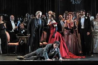 Vladimir Stoyanov, Patricia Ciofi i Charles Castronovo a La Traviata Liceu 2014. Foto ® A Bofill