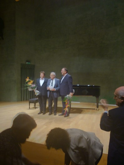 Alexander Schmalcz, Jordi Roch i Matthias Goerne, Foto IFL