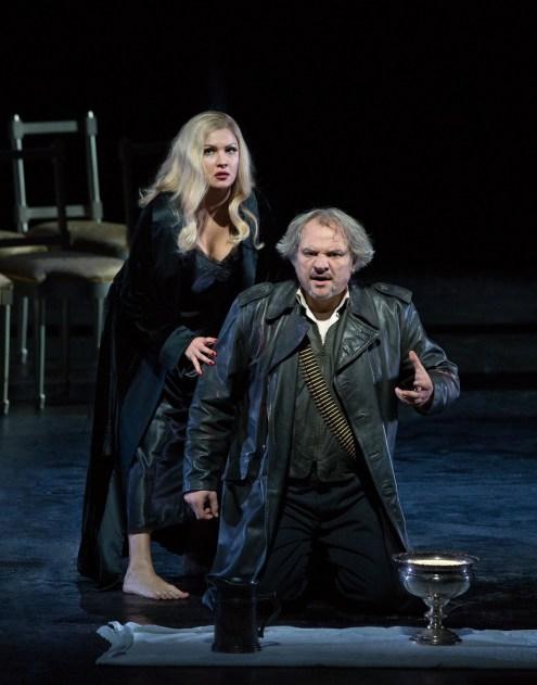 Željko Lučić and Anna Netrebko al Maccbeth del MET Fotografia de Marty Sohl/Metropolitan Opera