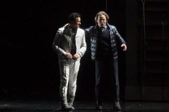 Piotr Beczala (Vaudemont) i Alexey Markov (Robert) a Iolanta al MET Marty Sohl/Metropolitan Opera