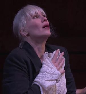 Alexandra Deshorties (Medea) a Ginebra, producció de Christoh Loy