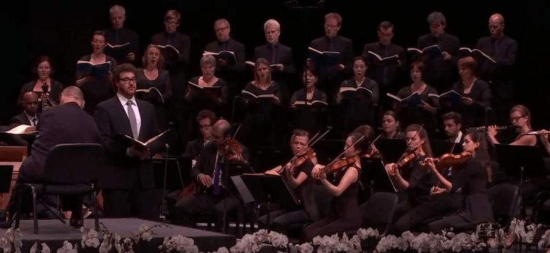 Mauro Peter, Rias Kammerchor i Orquestra del Festival de Verbier