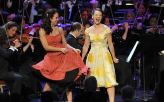 THE MAIDA VALE SINGERS WITH THE JOHN WILSON ORCHESTRA SING 'AMERICA' FROM WEST SIDE STORY
