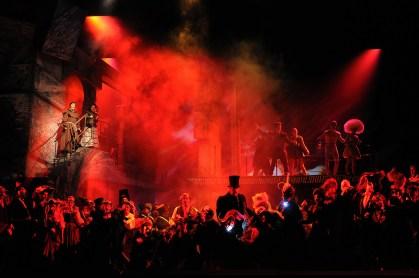 Benvenuto Cellini, producció de Terry Gilliam Liceu 2015/2016 Fotografia © Antoni Bofill