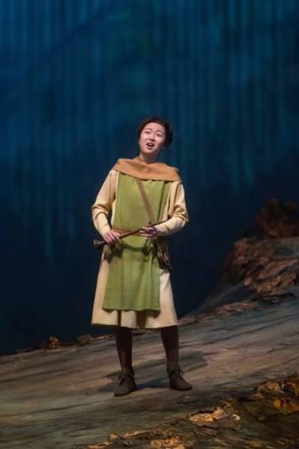 Ying Fang (pastor) al Tannhäuser del MET Fotos: Marty Sohl / The Metropolitan Opera