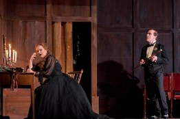 Parsifal på Kungliga Operan 2016. I rollen som Kundry; Katarina Dalayman, Klingsor; John Erik Eleby