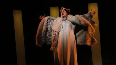 Ekaterina Semenchuk (Lady Macbeth) LA Opera Genaro Molina / Los Angeles Times