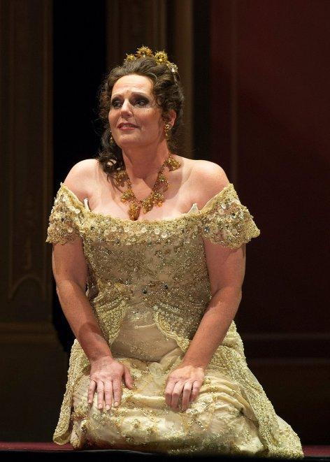 Eva Maria Westbroek Tosca al Teatro Colón (debut) Fotografia Máximo Parpagnoli: