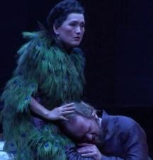 Mihoko Fujimura (Fricka) i Thomas Johannes Mayer (Wotan) Viena 2017