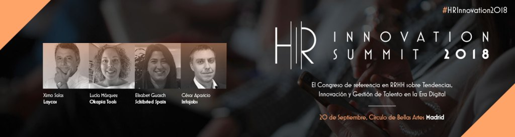 HR INNOVATION SUMMIT MADRID - RRHH XIMO SALAS